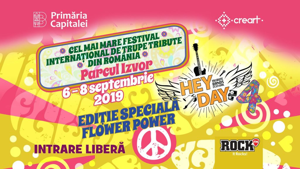 Hey day Music festival  weekend 6-8 sept