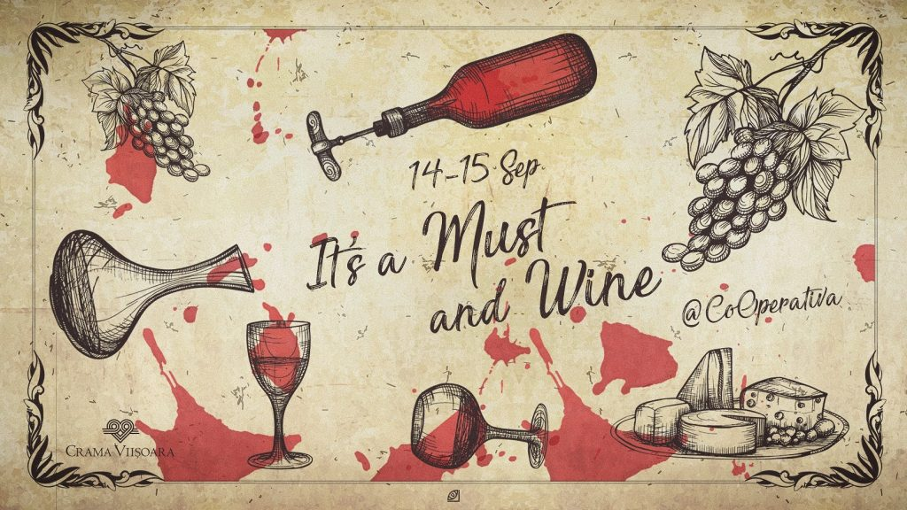 It is a must and wine weekend 13-15 sept