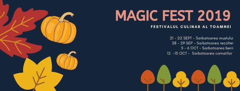 Magic Fest 2019 weekend 27-29 sept