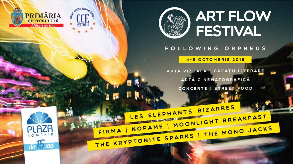Art Flow Festival weekend 4-6 oct