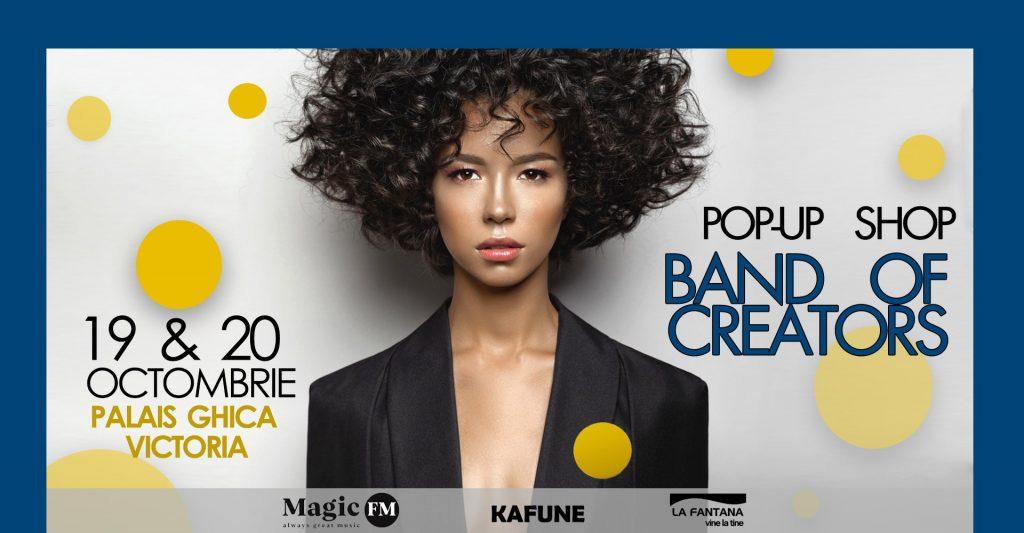 Band of creators pop up shop weekend 18-20 oct
