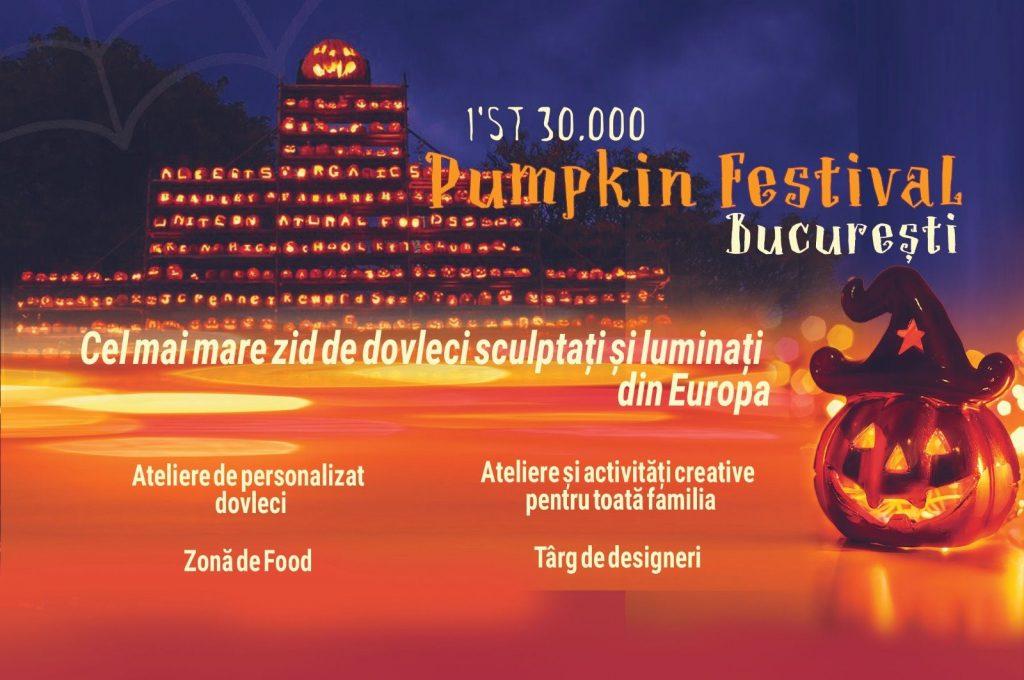 Bucharest Pumpkin Fest weekend 25-27 oct