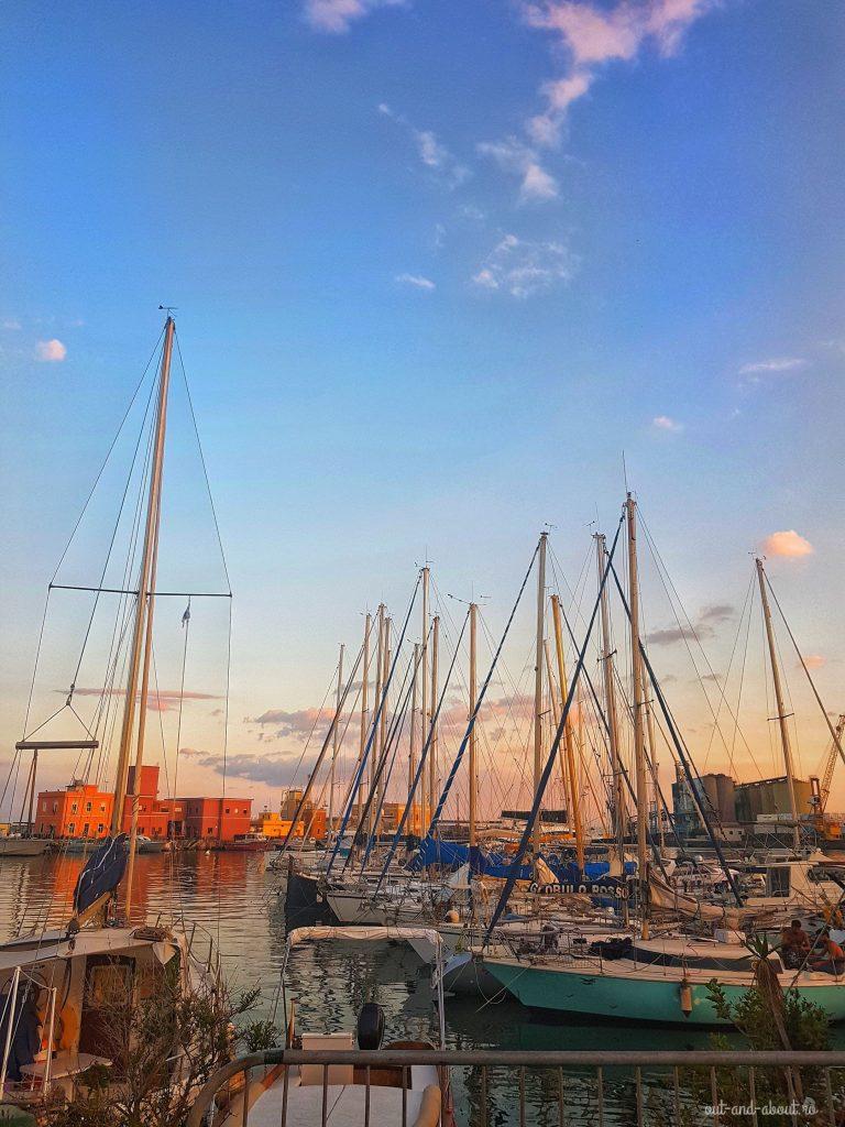 catania port, sicilia