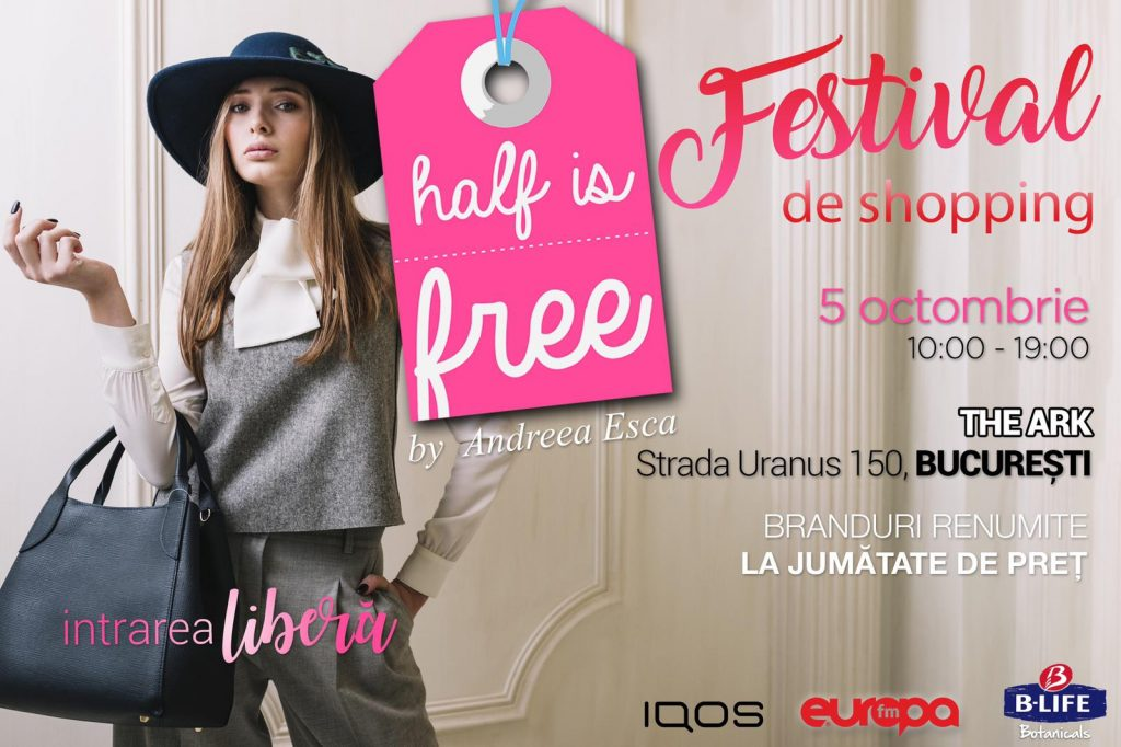 half is free weekend 4-6 oct