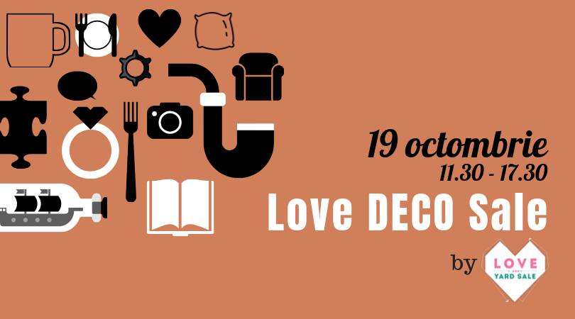 love deco sale  weekend 18-20 oct
