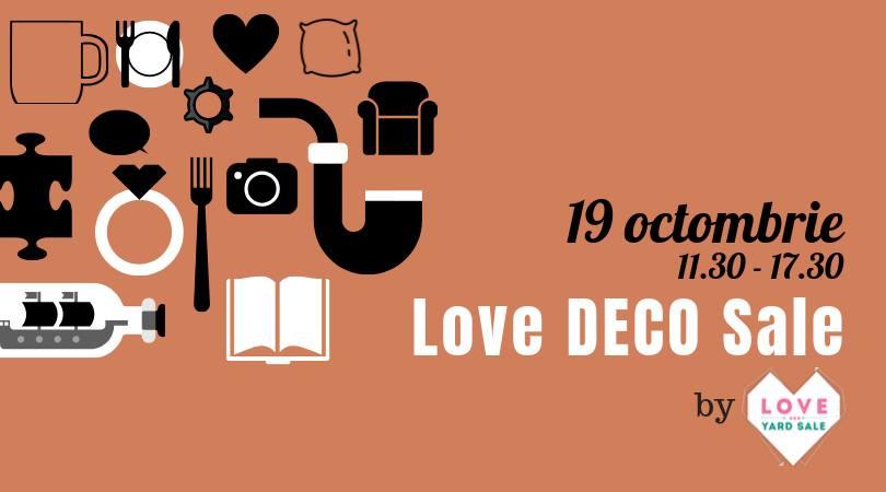 love deco sale  weekend 18-20 oct