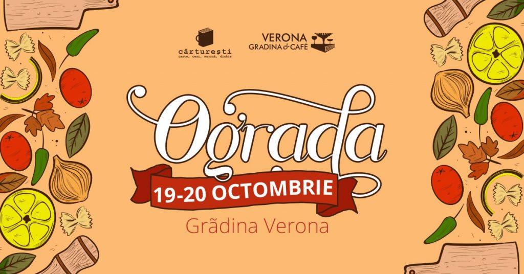 Ograda de toamna la Gradina Verona weekend 18-20 oct
