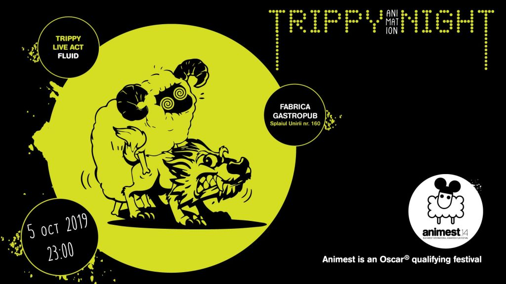 Trippy Animation night  weekend 4-6 oct
