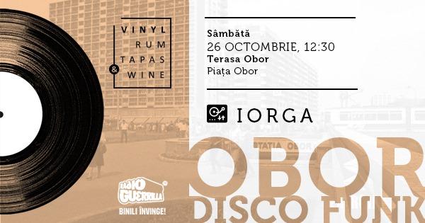 VRTW Obor Disco Funk weekend 25-27 oct
