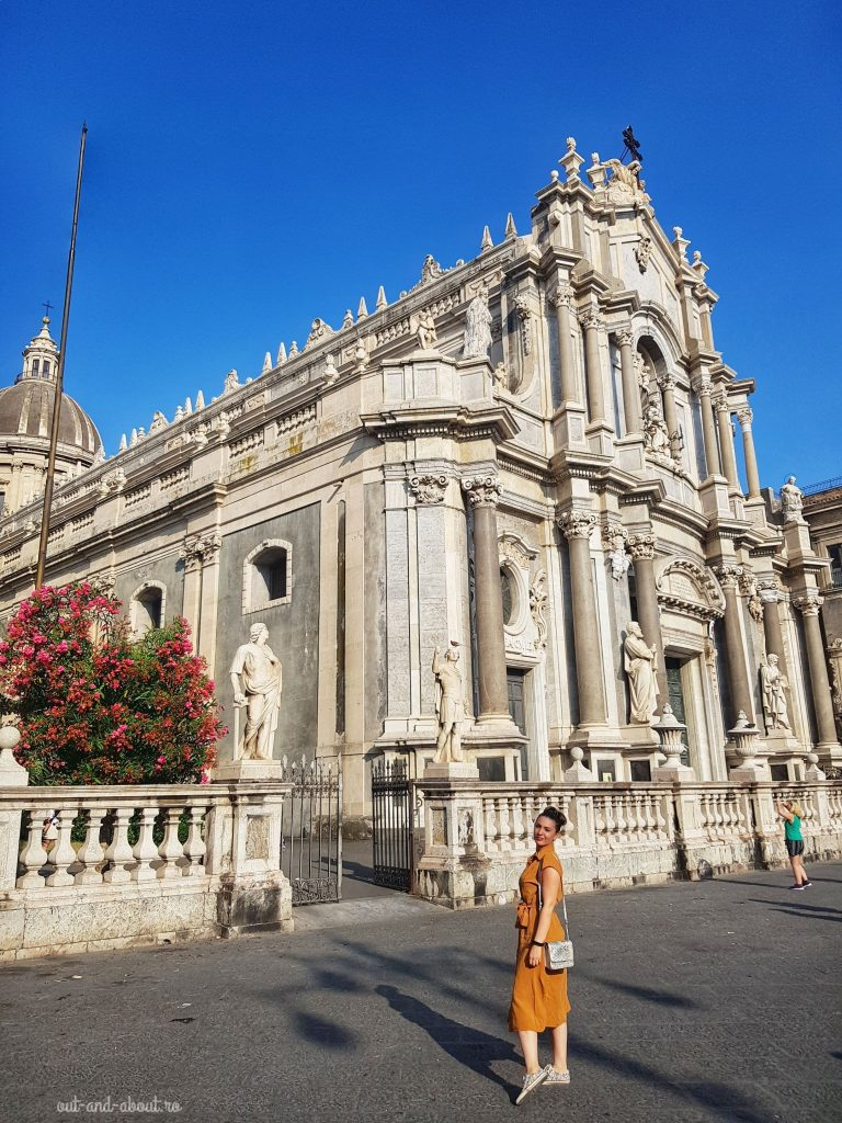 catedrala Sf. Agata, Catania, Sicilia