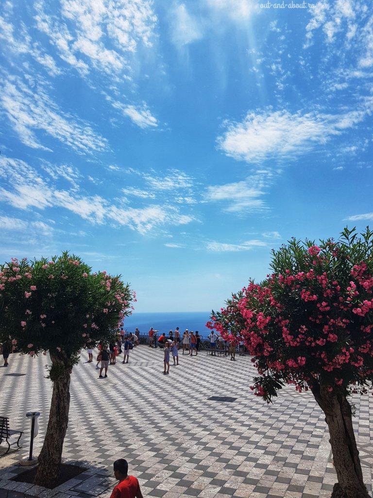 Taormina view, Sicilia