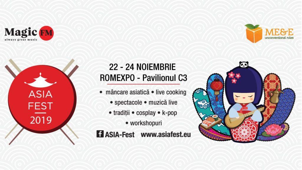 Asia Fest weekend 22-24 noiembrie