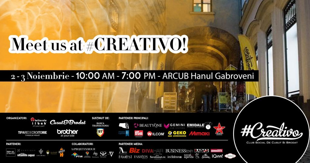Creativo de toamna weekend 1-3 noiembrie