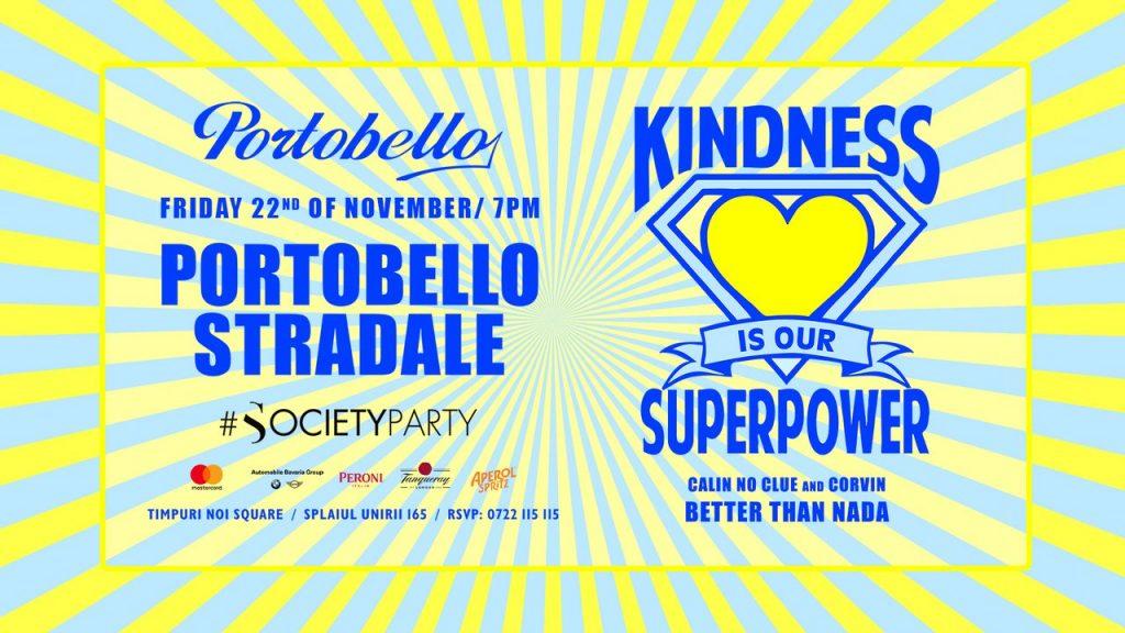Portobello Stradale Superpower weekend 22-24 noiembrie