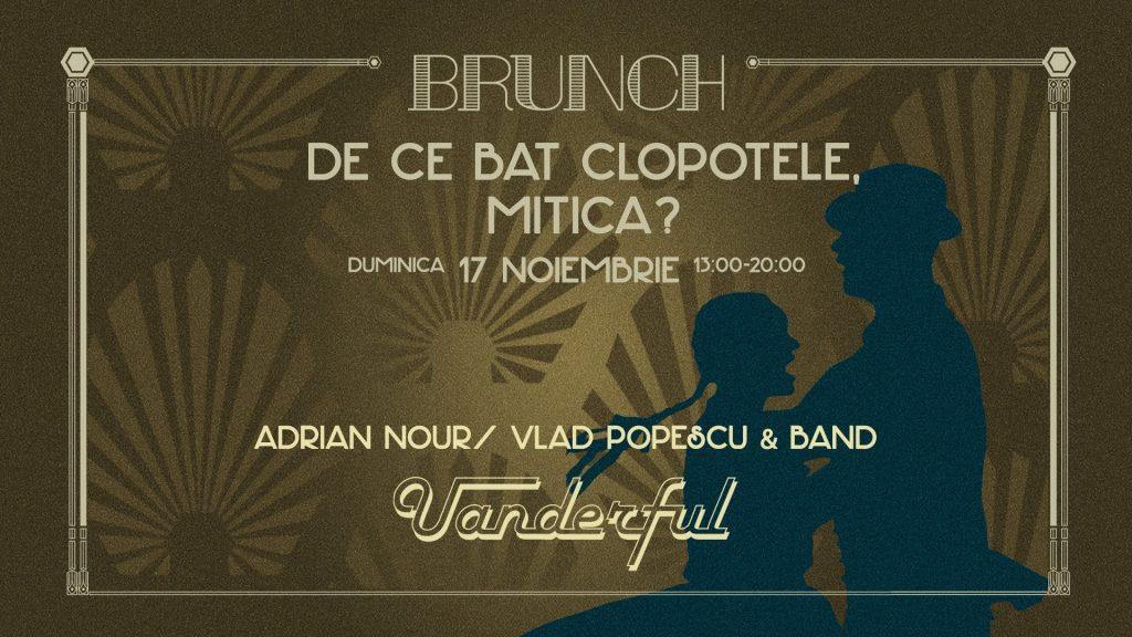 uanderful brunch  weekend 15-17 noiembrie