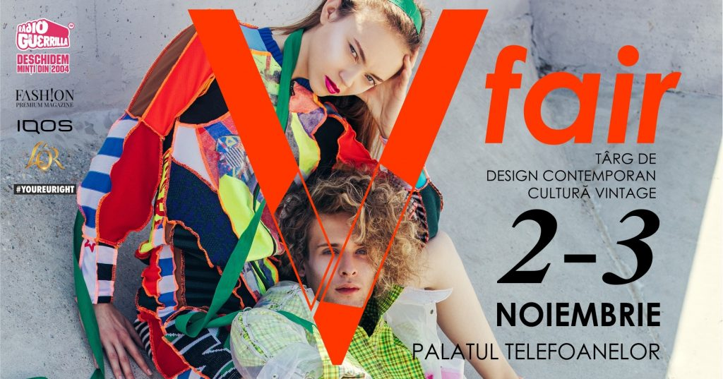 V fair - targ de design contemporan si cultura vintage weekend 1-3 noiembrie