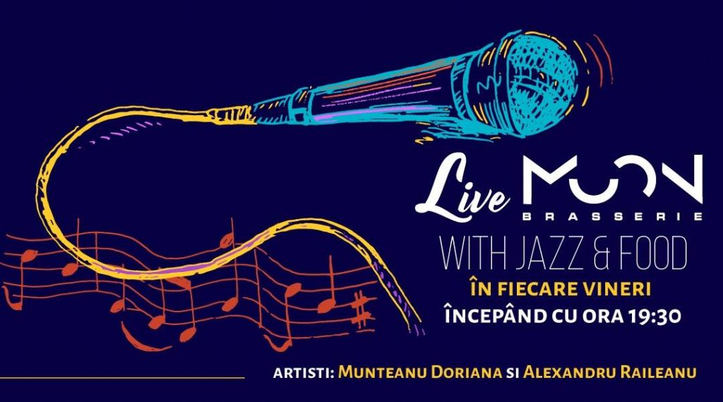 live moon brasserie with jazz and food. weekend 1-3 noiembrie