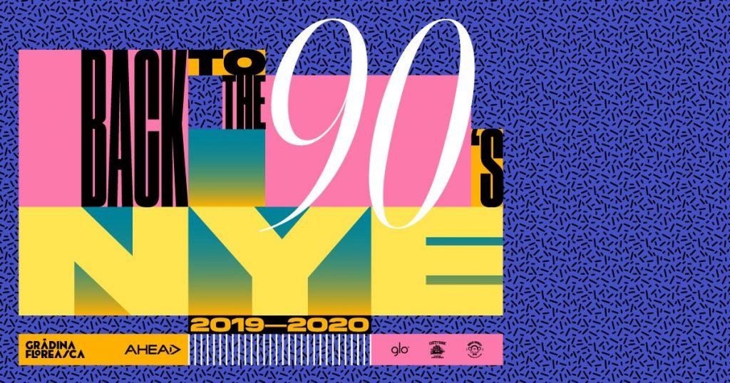 Back to the 90's revelion 2020 Grădina Floreasca
