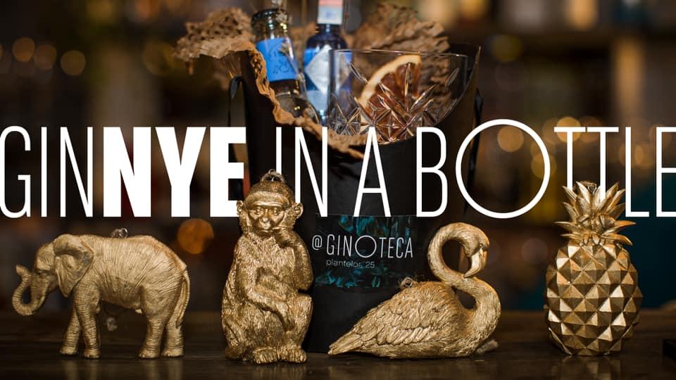 GiNYE in a bottle Revelion 2020 la Ginoteca