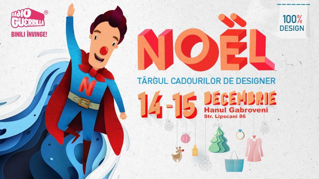 Noel Targul cadourilor de designer weekend 13-15 dec