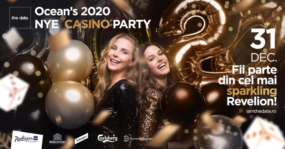 Ocean's 20- NYE Casino The date revelion 2020