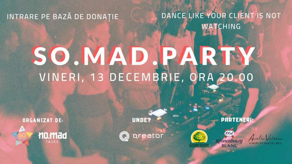 SO MAD party weekend 13-15 dec