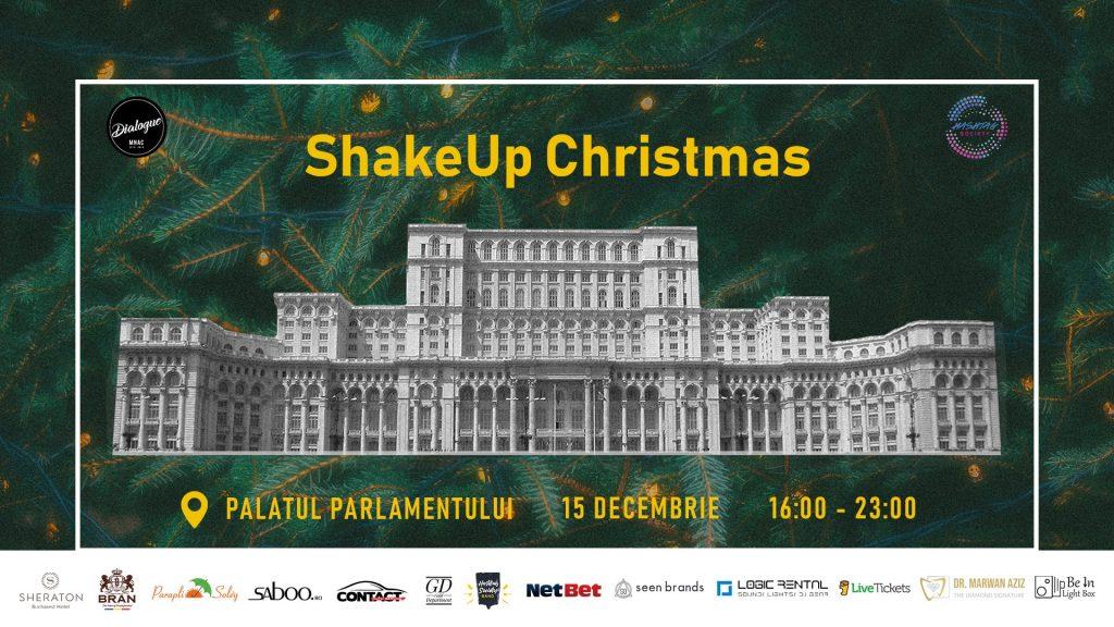 Shake up Christmas Palatul Parlamentului MNAC weekend 13-15 dec