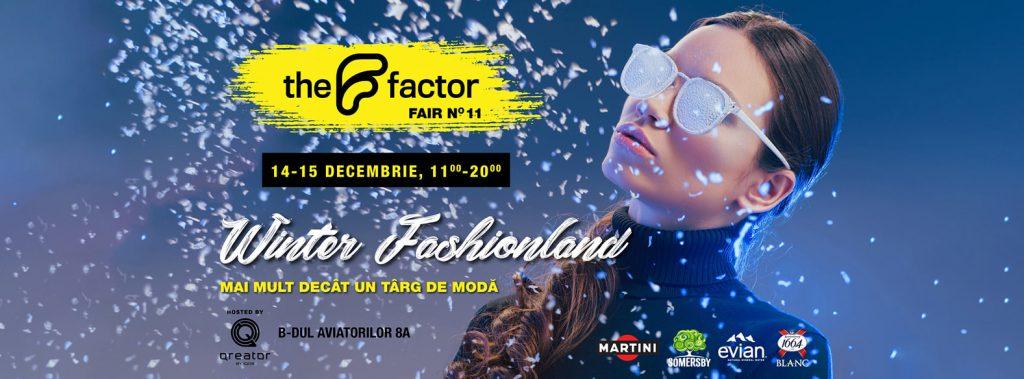 The F factor Winter Fashionland weekend 13-15 dec