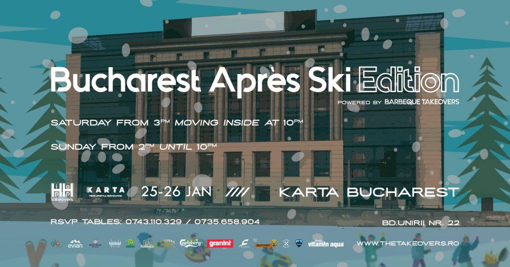 Hip hop takeovers apres ski la Karta weekend 24-26 ianuarie