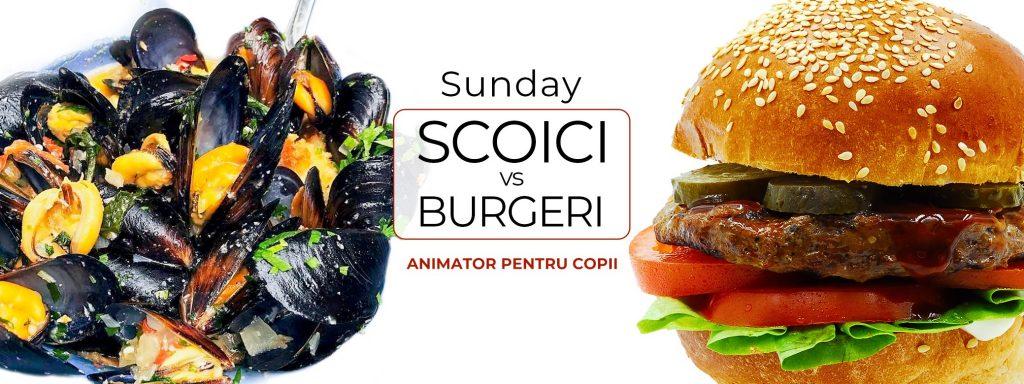 Scoici vs burgeri la Chefs experience weekend 17-19 ianuarie