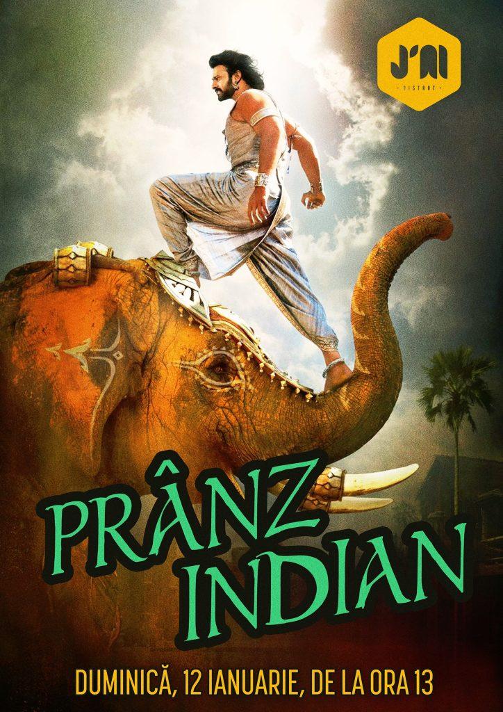 Pranz indian la J'ai bistrot weekend 10-12 ianuarie