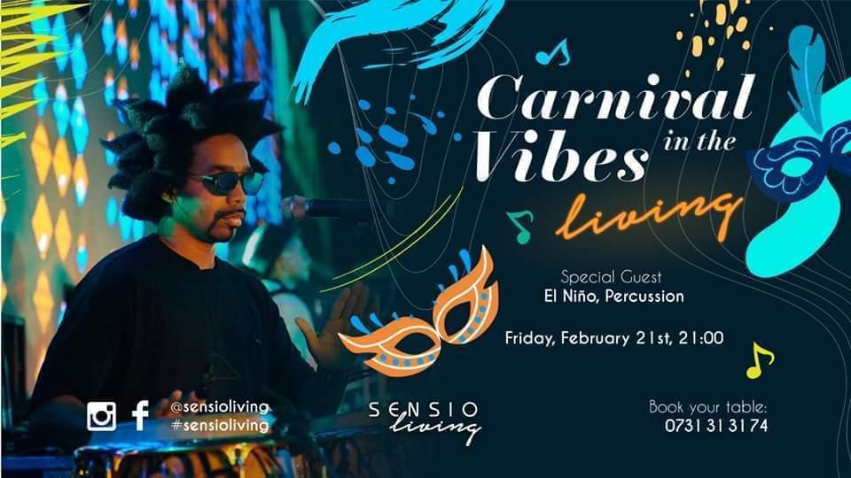 Carnival vibes la Sensio Living weekend 21-23 februarie