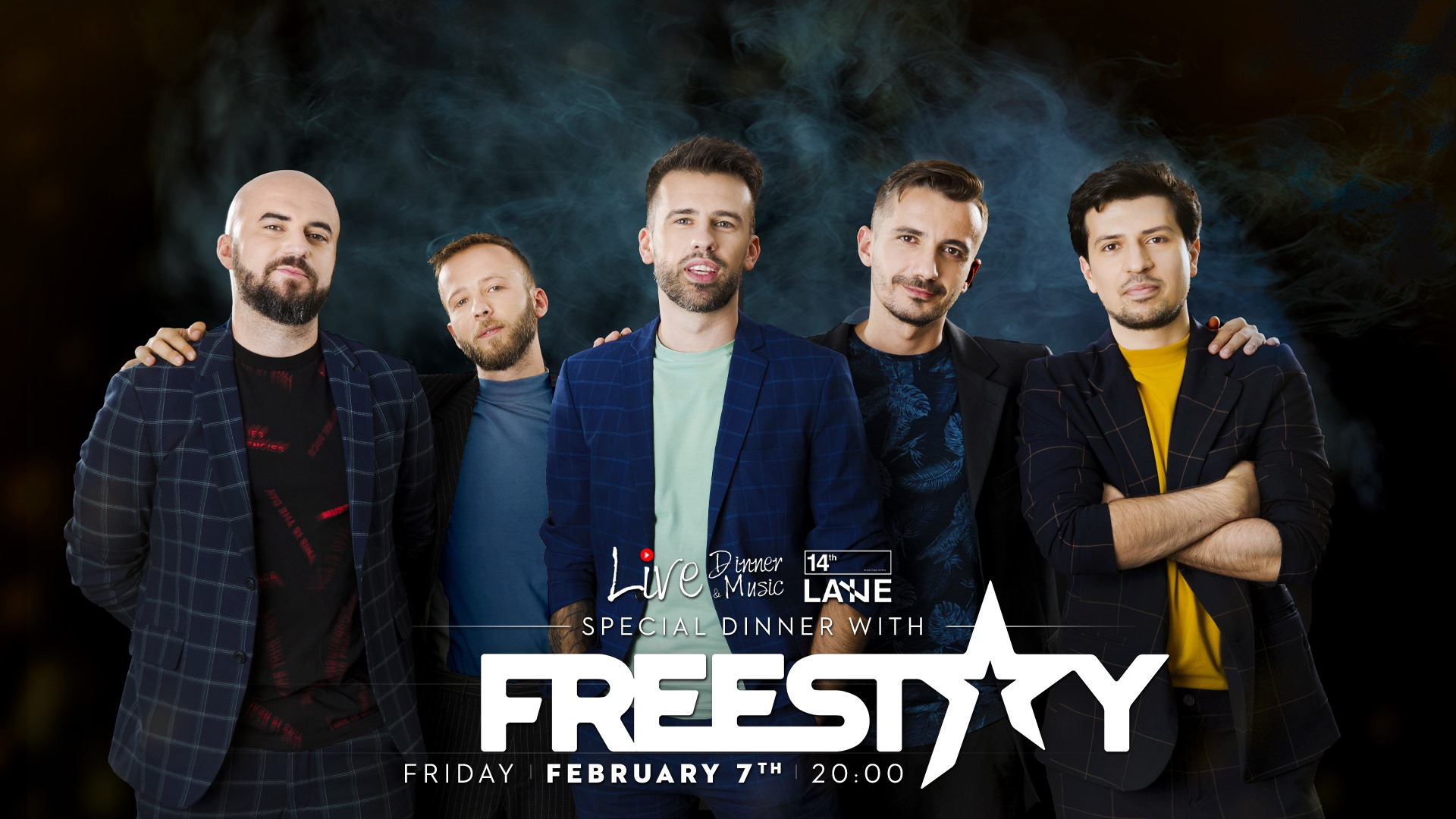 Freestay la 14thLane weekend 7-9 februarie