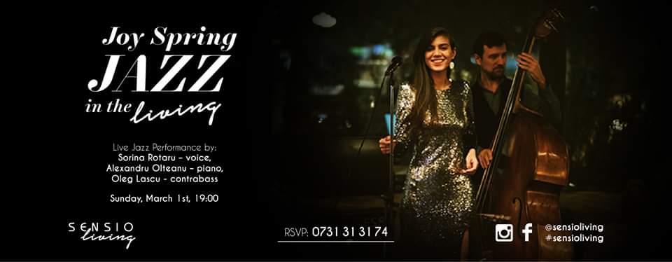 joy spring jazz la sensio living weekend 28 feb 1 martie