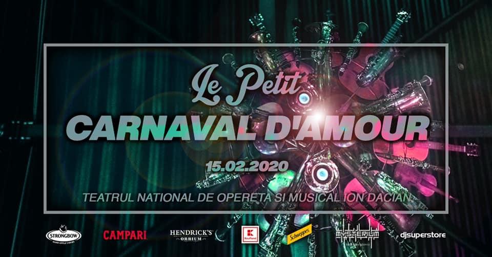 le petit carnaval d'amour weekend 14-16 februarie