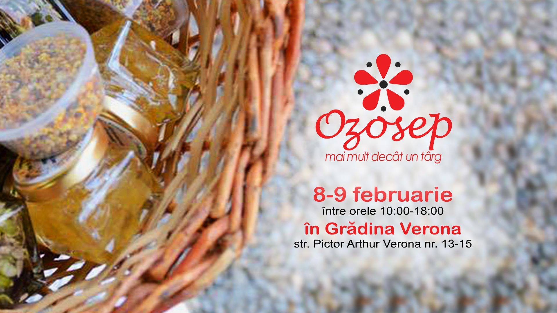 Ozosep targ la Carturesti weekend 7-9 februarie