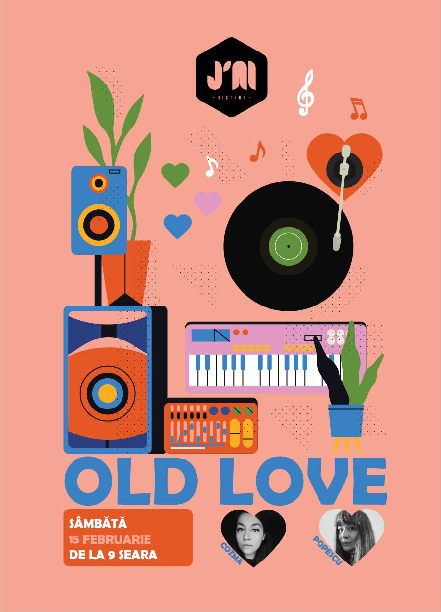 j'ai bistrot old love weekend 14-16 februarie