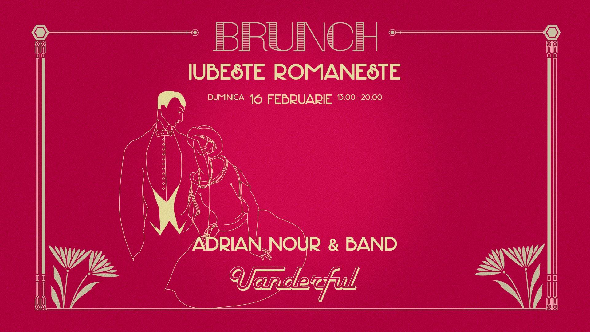 uanderful brunch weekend 14-16 februarie