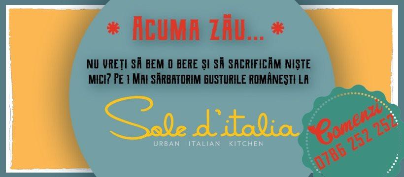 weekend 1-3 mai 1 mai la sole d'italia