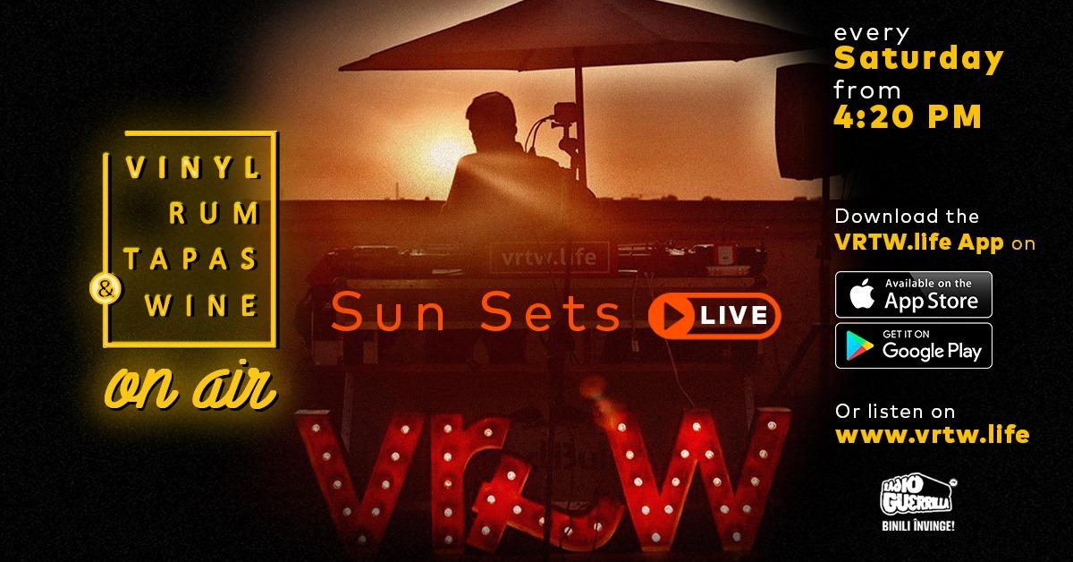 weekend 1-3 mai vrtw sunsets live