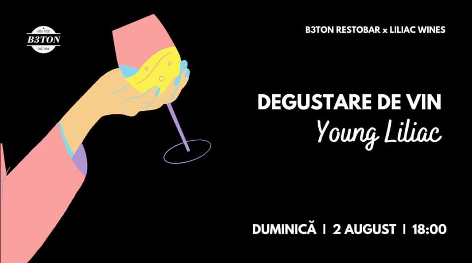evenimente weekend 31 iulie-2 aug degustare de vin young liliac la beton restobar
