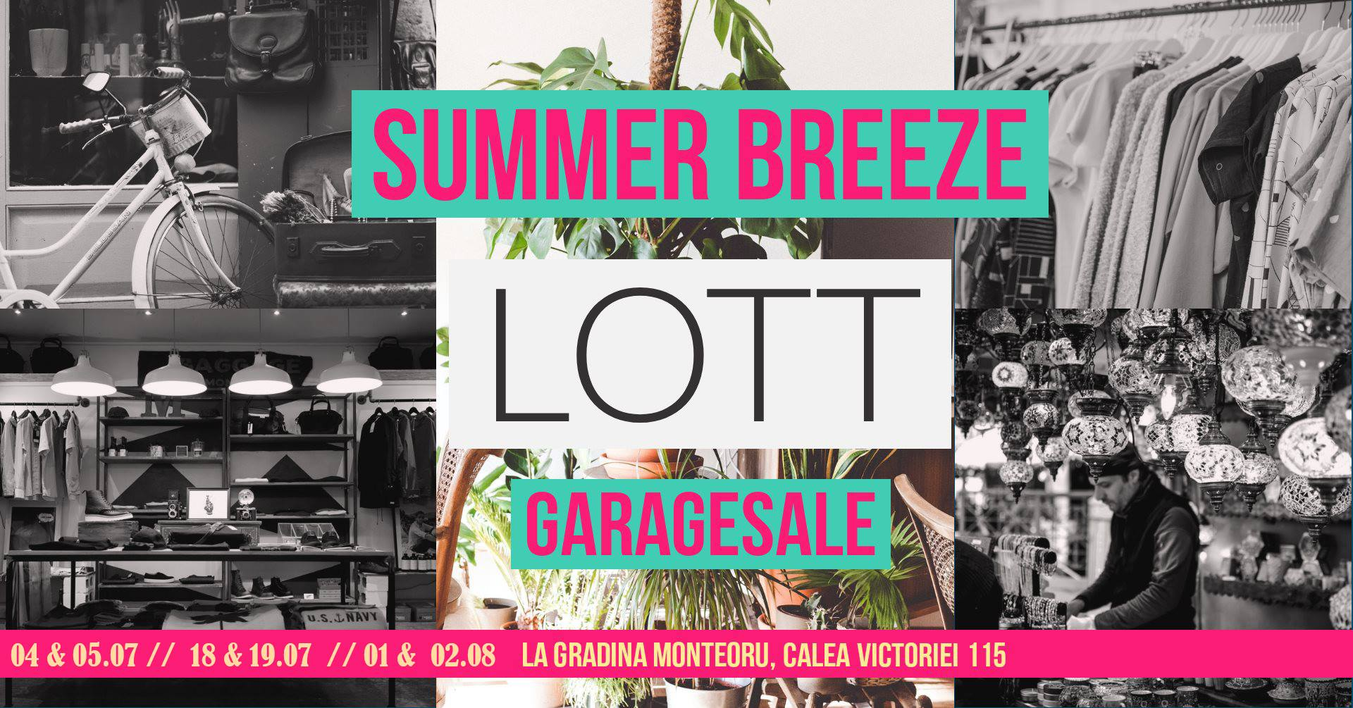weekend 3-5 iulie garage sale la monteoru