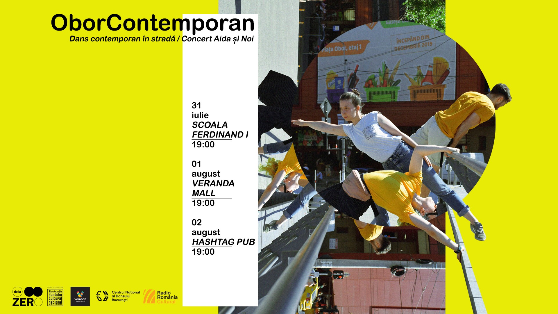 evenimente weekend 31 iulie-2 aug obor contemporan