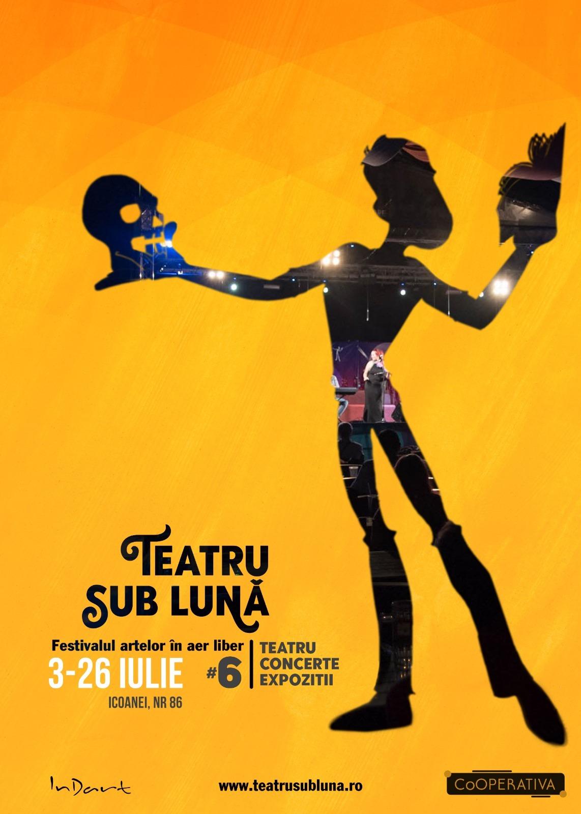 weekend 3-5 iulie festivalul teatrul sub luna