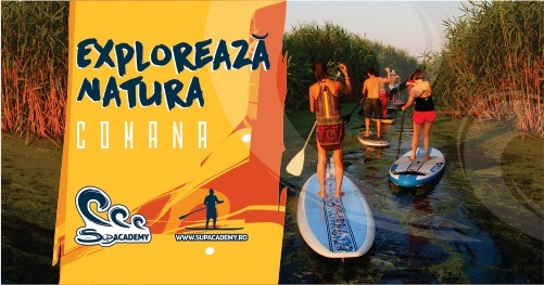 weekend 14-16 august exploreaza natura pe SUP la Comana