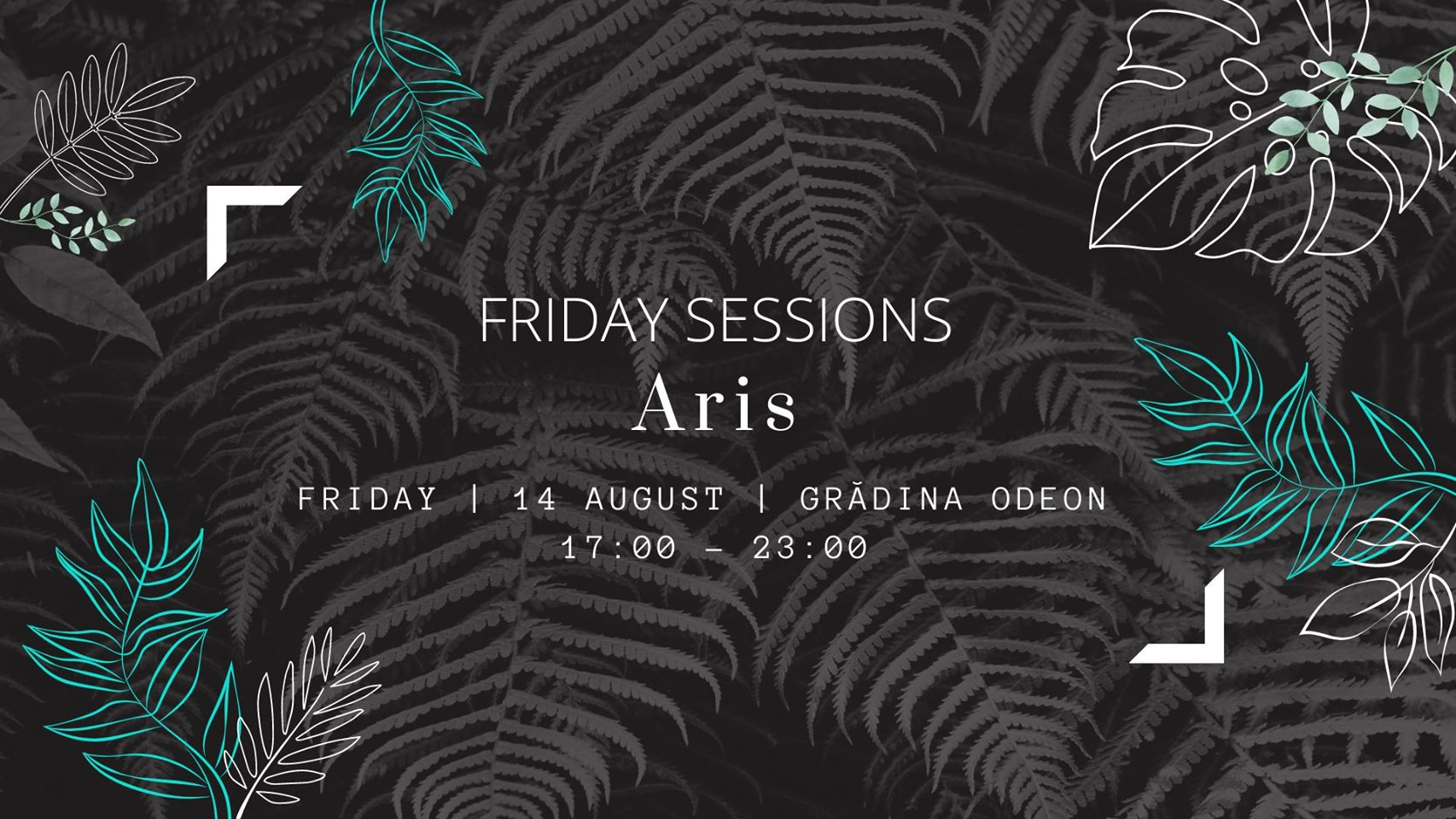 weekend 14-16 august friday sessions in gradina odeon