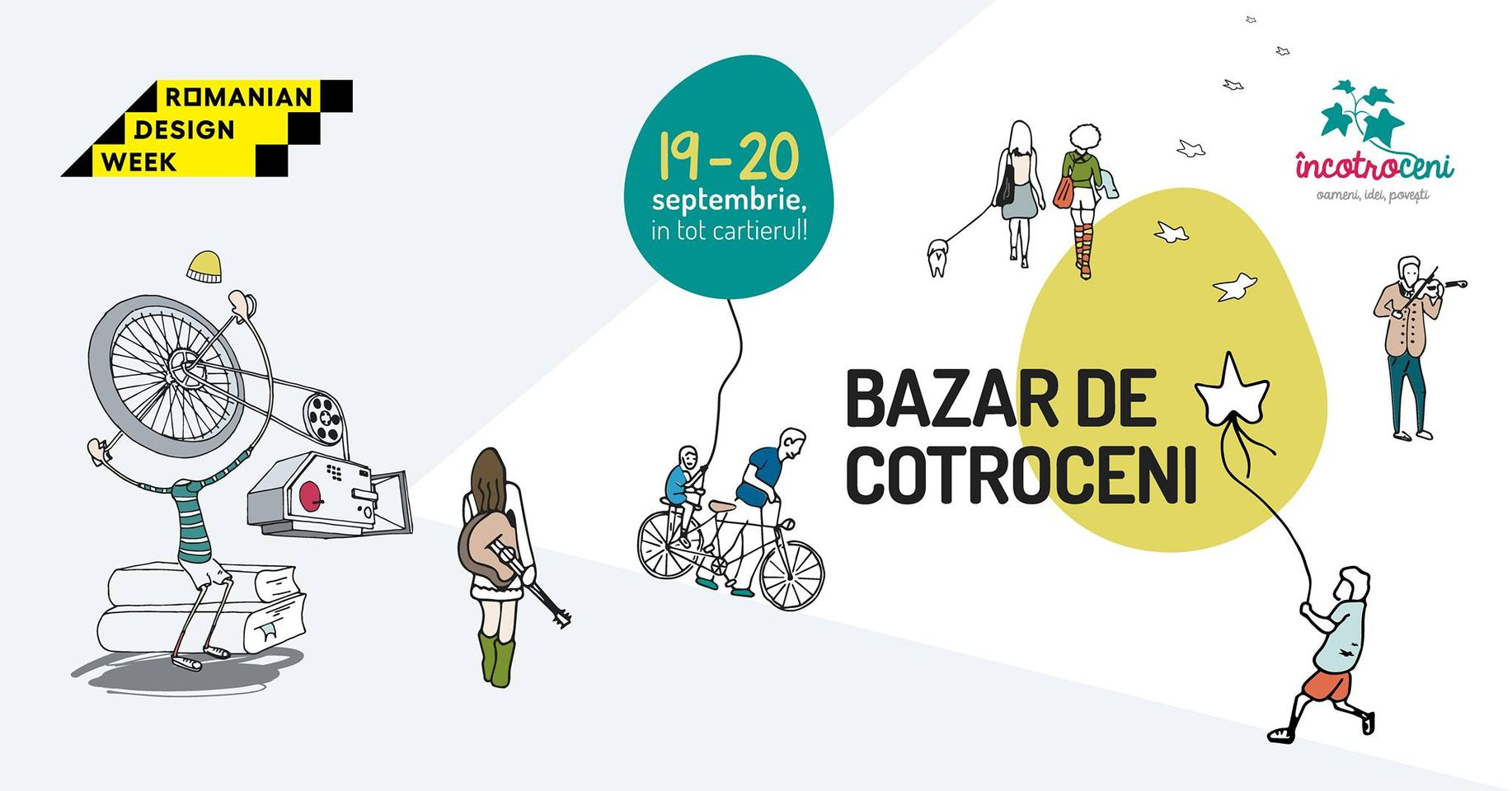 evenimente weekend 18-20 sept bazar de Cotroceni