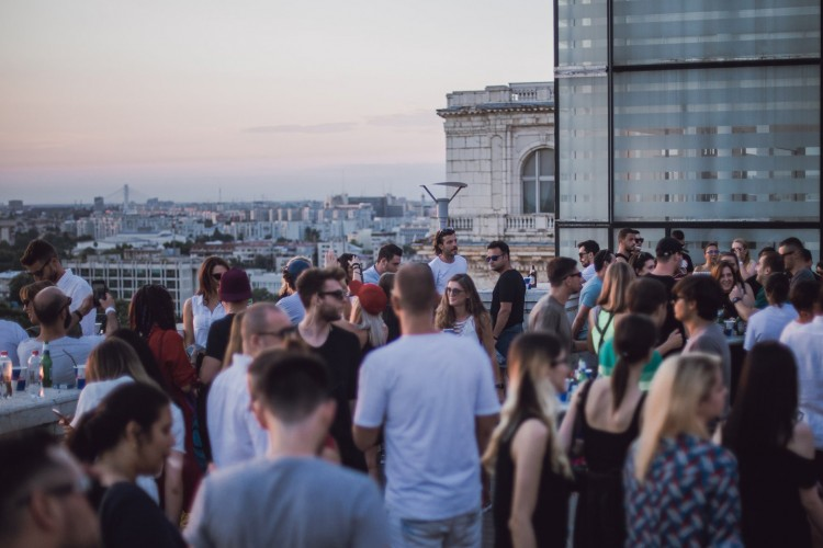 evenimente weekend 4-6 sept Rooftop la MNAC