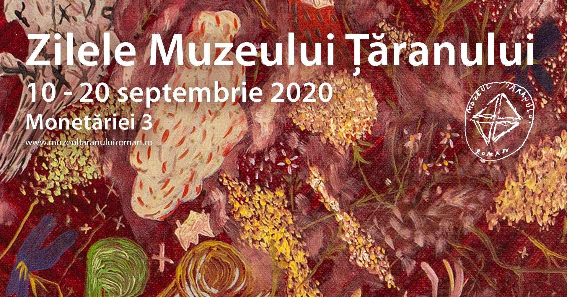 evenimente weekend 11-13 sept zilele muzeului taranului