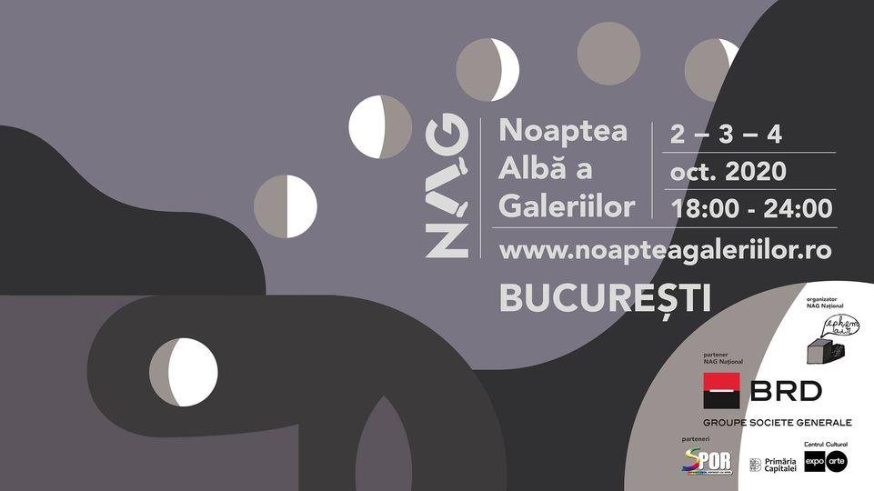 evenimente weekend 2-4 oct Noaptea alba a galeriilor Bucuresti